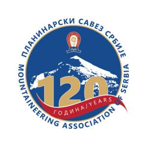 120 godina planinarstva u Srbiji logo